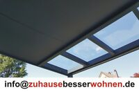 Unterdachbeschattung - Markise für Terrassendach Terrassenüberdachung  4,5x3,5 m