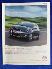 Toyota Yaris TS-bombardeados publicitarias advertisement 2007 __ (431