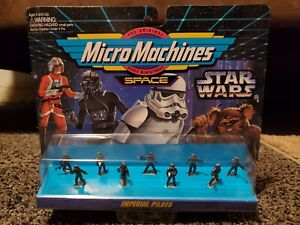 Star Wars Micro Machines Imperial Pilots Mini Figure Set