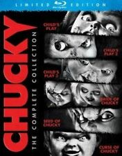 Chucky Complete Collection 1 2 3 4 5 6 Blu-ray Child's Play Bride Seed Curse of