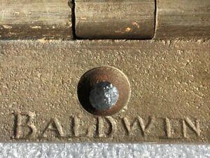 """Vintage Victorian / Edwardian cast iron door hinges 3""""."""