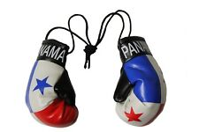 PANAMA Country Flag  Mini BOXING GLOVES .. New