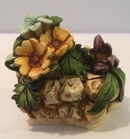 """NIB 1999 Harmony Garden """"Alpine Flower"""" Box Figurine #HG3AL Harmony Kingdom NOS"""