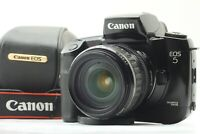 [Exc+4 Case] Canon EOS-5 EOS 5 QD 28-105mm Zoom Lens SLR Film Camera From Japan