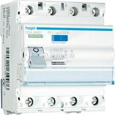Hager CDA440D FI-Schutzschalter 4-polig, Typ A 40A/0,03 -NEU-