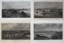 Original 1800-1899 Ansichten & Landkarten aus Russland