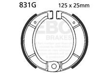 FIT BULTACO  Sherpa (91-250cc & 92-350cc)  EBC FRONT GROOVED BRAKE SHOES