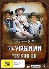 The Virginian: Season 9 (The Final Season) - Jerry Hopper NEW R4 DVD