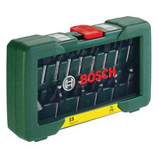 BOSCH 15 BIT Router Set POF 1200 POF 1400 DIY Routers 2607019468 3165140415866 V