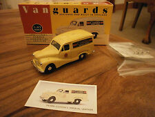 Lledo Vanguards Austin A40 Van in Cussons Livery