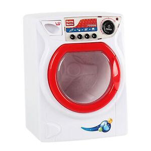Waschmaschine für Kinder Spielzeug Puppenwaschmaschine mit Funktion Puppe Wäsche