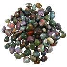 Blut-Stein trommelte sortierte Größen Großer natürlicher Reiki grüner Edelstein