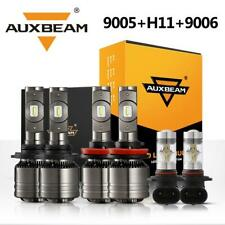 AUXBEAM 9005+H11 LED Headlight+9006 for Lexus IS250 IS350 06-09 Acura MDX 04-06