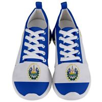 New El Salvador Flag  Men's Athletic Sports Running Shoes Free Shipping