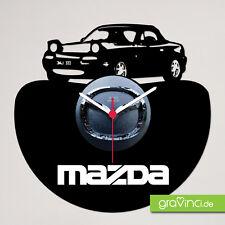Mazda MX5 Schallplattenuhr