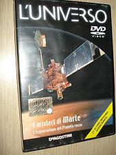 DVD I MISTERI DI MARTE L'ESPLORAZIONE DEL PIANETA ROSSO L'UNIVERSO DEAGOSTINI