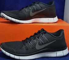 Nike Free 5.0+ Black Dark Grey Run SZ 9 ( 579959-002 )