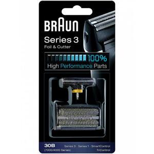 Grille de rasoir et bloc de lames Braun 30B noir neuf #03