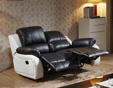 Voll-Leder Fernsehsofa Relaxsessel Relaxsofa Fernsehsessel 5129-2-SW sofort