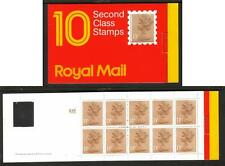 Gb 1987 Gi1 (10 X 13p) £1.30 Code H Square Tab Barcode Booklet
