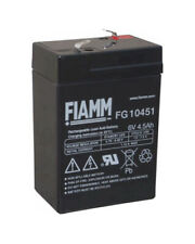 FIAMM FG11201 6V 12Ah Bleiakku Blei Gel Akku 11201 AGM ersetzt Yuasa NP12-6