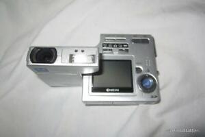VTG Pivot Kyocera Finecam SL300R 3.2MP Digital Camera - Untested parts AS-IS