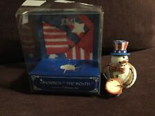 """Roman Inc~Snowmen Of The Month~July~Collectible Figurine 2.5"""" Tall Dated 1998"""