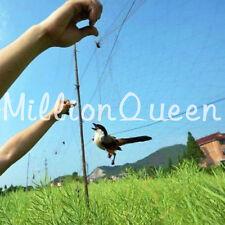 3mx12m Black Anti Bird Netting Nylon Net Mesh For Fruit Crop Plant Tree LS12#