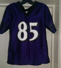 NFL Team Apparel Boys Girls Baltimore Ravens Derrick Mason 85 Jersey Top Size 3T
