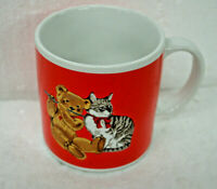Vintage 1984 Schmid Gordon Fraser Cup Bear with Flute and Cat