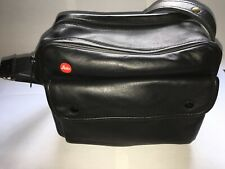 Black leather Leica Combination Case (14805) for R4-R6.2 with 4 compartments
