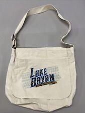 Luke Bryan 2013 Dirt Road Diaries Tour Canvas Tote Bag
