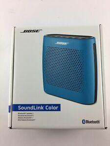 BOSE 415859 SOUNDLINK COLOR PORTABLE WIRELESS BLUETOOTH SPEAKER ~ BLUE