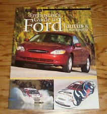 Original 2000 Road & Track Enthusiasts Guide to Ford Taurus & Motorsports