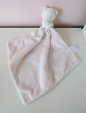 The Little White Company Katie Cat Kitten Baby Comforter Blankie Soother Pink