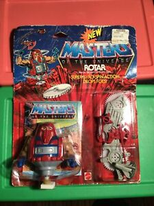 1986 Masters Of The Universe Rotar Gyro-Spin Action Figure MOC SEALED NEW VTG