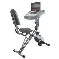 Exerpeutic WorkFit 1000 Klappbarer Liege Heimtrainer Ergometer Hometrainer
