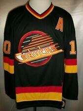 "Pavel Bure Vancouver Canucks Black ""1989-1992 Throwback"" CCM NHL Jersey XL"