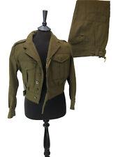 British Battledress Military 1949 Pattern Uniform - Re enactment - Size No 1 & 3