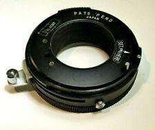 Vivitar T4 Lens to Miranda camera adapter Ring Mount