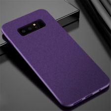 For LG V30 G4 G5 G6 G7 ThinQ  Sandstone Matte Silicone Slim Soft TPU Case Cover