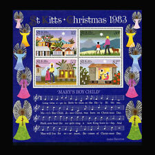 St Kitts, Sc #130a, MNH, 1983, S/S, Christmas, Music, CL88F