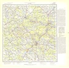 Russian Soviet Military Topographic Maps - KIELCE (Poland),1:200K, ed.1963