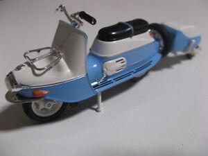 Motorroller Cezeta 502 mit Anhänger Atlas Serie DDR Motorräder neu OVP