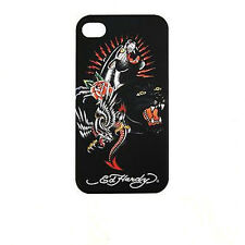 CUSTODIA BACK CASE FACEPLATE ED HARDY PANTHERS per APPLE IPHONE 4 4G 4S