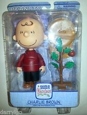 Peanuts 2006 A Charlie Brown Christmas with Cap and Pathetic Tree Figure #6060