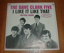"""DAVE CLARK FIVE 5 Orig 1965 """"I Like It Like That"""" PS picture sleeve NM-"""