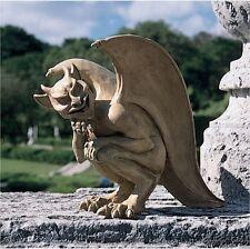 Gothic Mischievous Devilish Gargoyle Sculpture Medieval Home Garden Statue