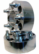 """Aluminum ADAPTER SPACER 5/4.5 to 5/4.5 Bolt Pattern Circle 2"""" Thick Hub Centric"""