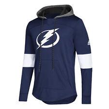 1e72a017b Tampa Bay Lightning adidas Mens Blue Line Premium Hooded Sweatshirt XXL